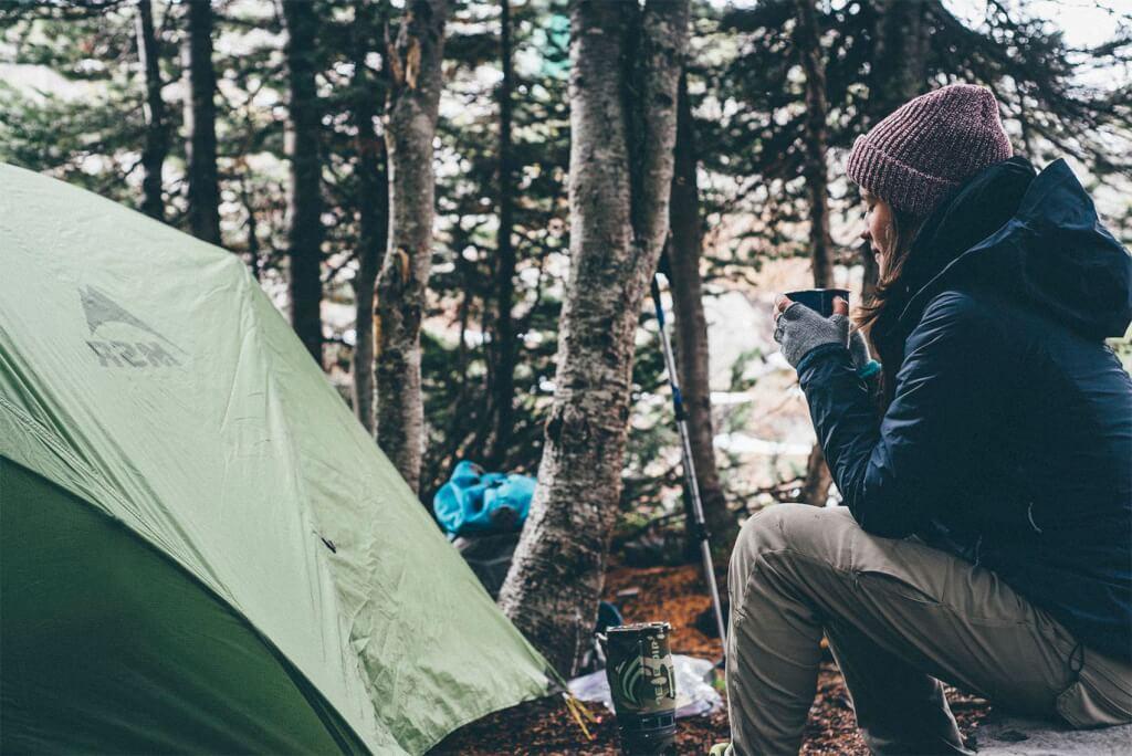 3-säsongssovsäckar för vandring med tält och backpacking