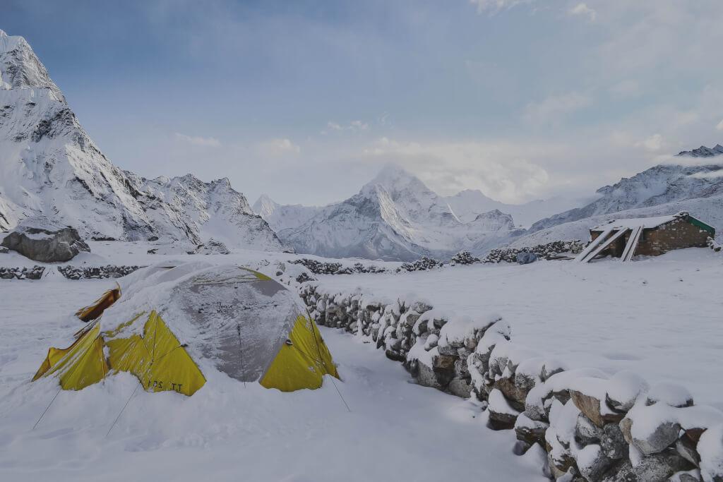 Test av bästa tälten på vintern