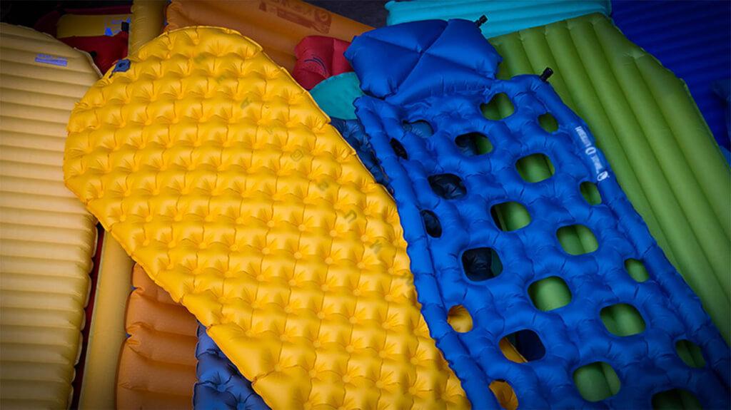 test av bästa uppblåsbara liggunderlagen