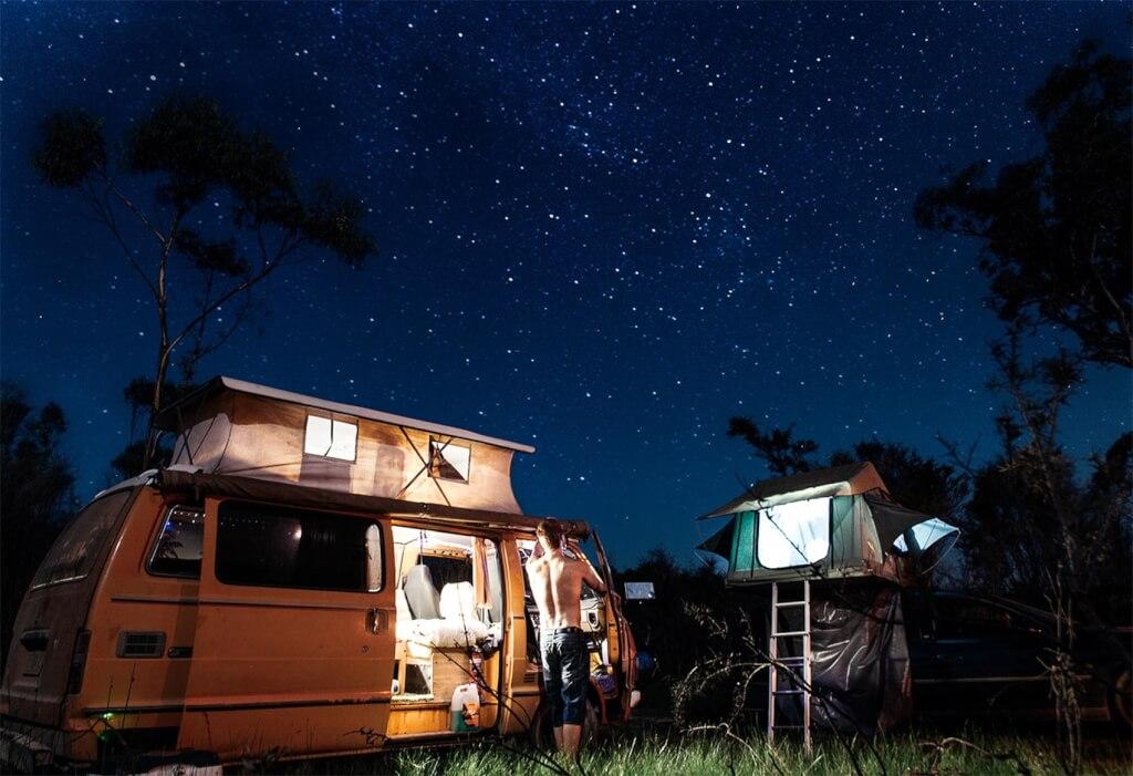 Test av 3-säsongssovsäckar för camping