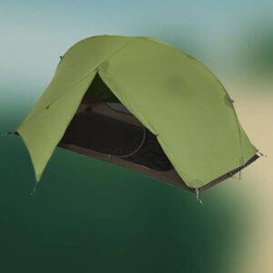Exped Carina II Green Ultralätt Tält