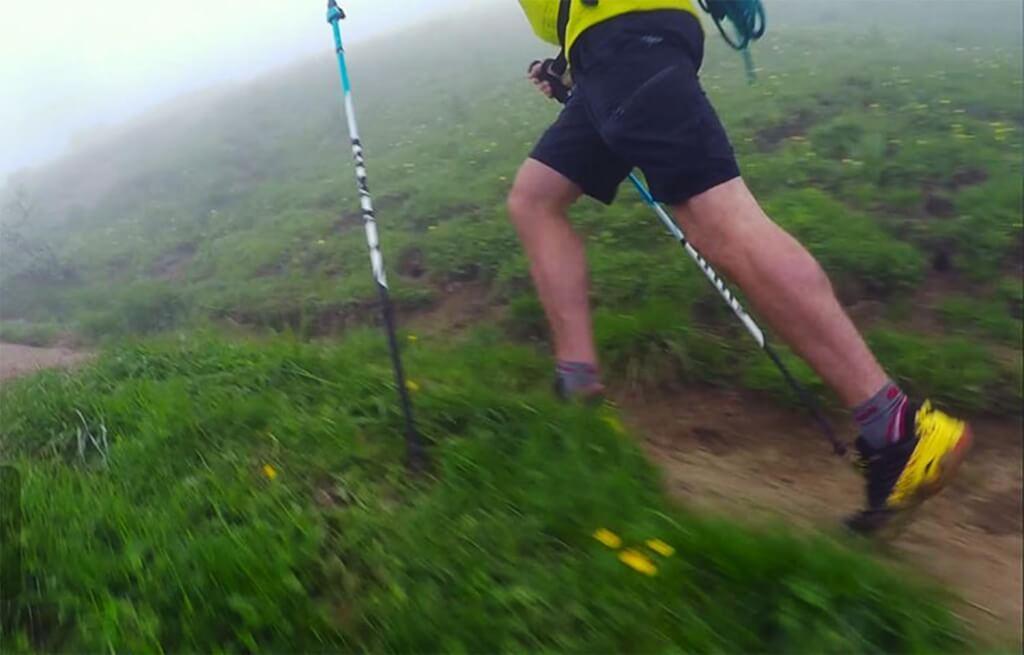 test av stavar för terränglöpning och trail running